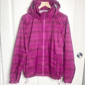 Mountain Hardwear Waterproof Zip Up Jacket XL pink